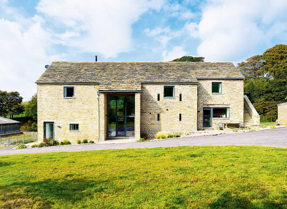 Conversion of a Listed Stone Barn