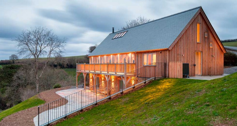 Award-Winning, Traditional-Style Oak Frame Self Build in Devon