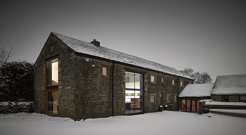 Yorkshire Barn Converted By Snook Architects.